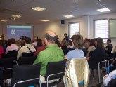 La concejal de Educación asiste a la clausura del 'X Encuentro del Consejo Escolar de la Región de Murcia' que se celebró en Molina