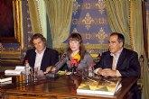 José  Miguel Carrillo de Albornoz presenta su libro 'El oro del cielo' en Mazarrón