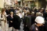 La alcaldesa y los portavoces municipales asisten a la misa en honor de los marinos fallecidos en Haití
