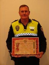 El cabo Antonio Herrera, distinguido por la Asociación Nacional de Guardias Civiles Marqués de las Amarillas