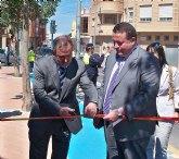 Inauguración de la remodelación del Centro Cultural y la calle Real