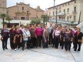 Continúan las actividades de la 'I quincena sociocultural de las personas mayores' con el paseo saludable por la zona de los huertos