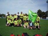 Los alumnos deportistas del Centro Ocupacional 'José Moya' participan en el Campeonato Regional de Fútbol 7