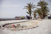 Un carril bici recorrerá los paseos marítimos de Puerto de Mazarrón