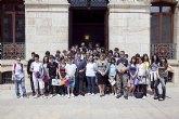 Recepci�n oficial de estudiantes franceses