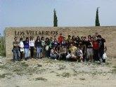 Un grupo de escolares de Torre Pacheco visita el yacimiento tardo-romano de Los Villaricos