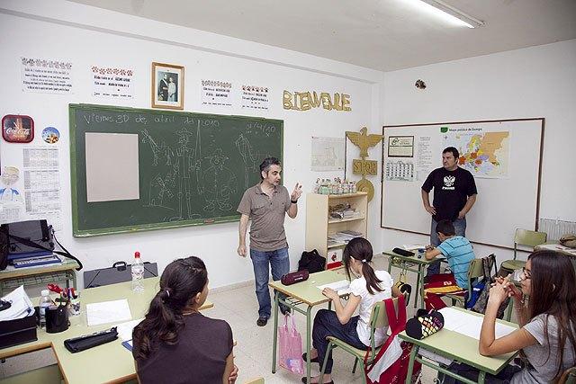 Juan Álvarez y Jorge Gómez, maestros del cómic en Mazarrón, Foto 1