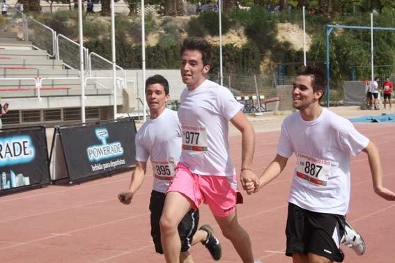 1800 atletas recorrieron el campus de Espinardo en la IV Carrera Popular de la Universidad de Murcia - 1, Foto 1