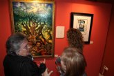 34 alumnos de la Escuela Municipal de Artes Plásticas exponen desde esta tarde en el Palacio de Guevara