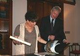 El jefe del Ejecutivo murciano recibe a la embajadora en España de la República de Guatemala, Ana María Diéguez