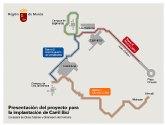 La red ciclista que conecta el centro de Murcia con los campus universitarios se abrirá al tráfico en junio