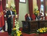El Ayuntamiento entrega la Medalla de Oro de la Ciudad a la Real y Muy Ilustre Cofradía del Santo Sepulcro