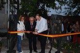 Se inauguran las esculturas aleg�ricas a la Fiesta de Los Mayos