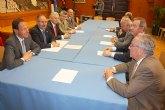 El Alcalde recibe al nuevo comité ejecutivo de la Cámara de Comercio