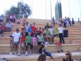 Una veintena de alumnos de los centros Reina Sofía, San José y Santa Eulalia participan en la semifinal regional de atletismo