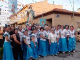 Sangonera la Verde rinde tributo a la Purísima con una romería que congregó a cientos de fieles