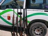 Agentes Medioambientales interceptan a cinco cazadores furtivos en un coto situado en el término municipal de Campos del Río