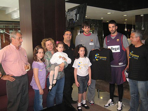 Juan Carlos Navarro y Ricky Rubio apoyan a las personas con enfermedades raras, Foto 1