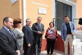 El delegado del Gobierno y el alcalde de Molina de Segura inauguran las nuevas instalaciones del Centro Social del Barrio de Fátima