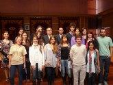 Doce alumnos argentinos becados por el Programa Golondrina visitan el municipio de Molina de Segura