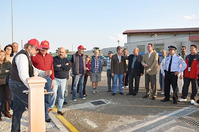 Mula pone en marcha el primer área municipal de servicio para autocaravanas en la Región - 1, Foto 1