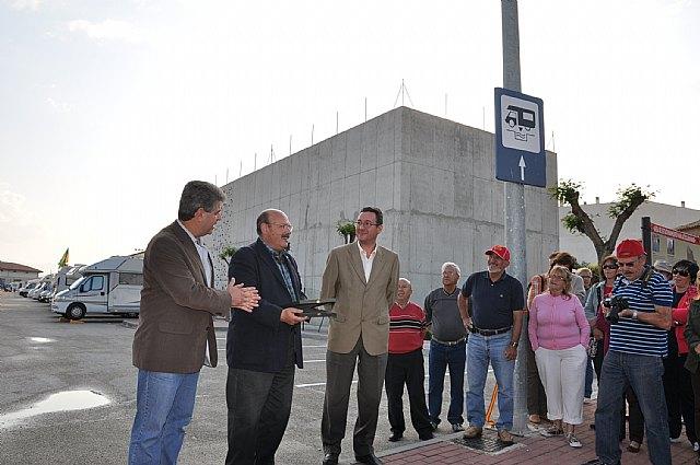 Mula pone en marcha el primer área municipal de servicio para autocaravanas en la Región - 2, Foto 2