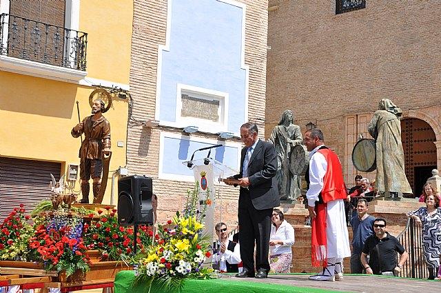 Francisco del Amor recibe el título de Hijo Predilecto de la Ciudad de Mula en el marco de las Fiestas de San Isidro, patrón de la huerta - 1, Foto 1