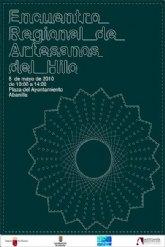 180 artesanos elaboran encajes y bordados en el III Encuentro regional de Artesanos del Hilo de Abanilla