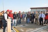 Mula pone en marcha el primer área municipal de servicio para autocaravanas en la Región