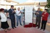 Inaugurada un jardín en Balsicas en homenaje a Severina Fructuoso Ros