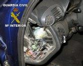 """La Guardia Civil detiene a dos personas por tráfico de droga y desmantela una """"casa de citas"""" en Mazarrón"""