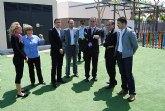 El delegado del Gobierno y el alcalde de Santomera inauguran las nuevas instalaciones deportivas de Santomera