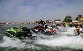 El campeón de Europa de motos de agua trajo a San Javier a los mejores pilotos y las mejores motos del continente