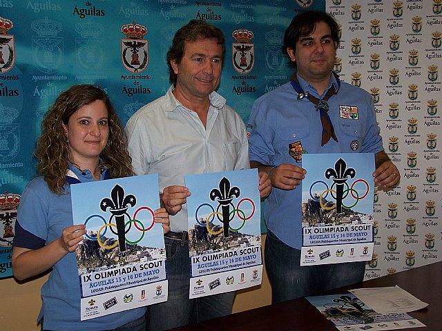 Información IX Olimpiada Scout ASDE-Exploradores de Murcia Grupos Scouts Centro Cultural de Renfe y Severo Montalvo - 1, Foto 1