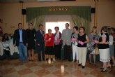 Bascuñana en el almuerzo de convivencia en el X Aniversario del Centro Social de Personas Mayores de Archena