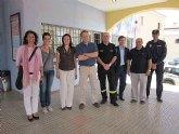 El gobierno de Formentera se interesa por el modelo de seguridad ciudadana de Los Alcázares