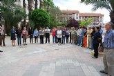 El Ayuntamiento de Alhama realiza una concentraci�n silenciosa en repulsa de la �ltima v�ctima de la violencia de g�nero