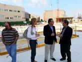 Las obras de construcción del Enclave de la Muralla de Molina de Segura están ejecutadas en un 50 por ciento
