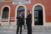 El delegado del Gobierno y el alcalde de Torre Pacheco inauguran las obras de mejora de la Avenida de la Estación y de la Barriada de San Antonio