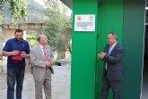 El delegado del Gobierno y el alcalde de Cieza inauguran las obras de mejora del Club de Piragüismo