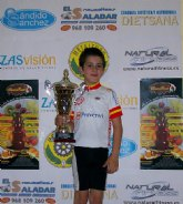 Alcantarilla acogió la cuarta pueba de ciclismo de la Region de Murcia