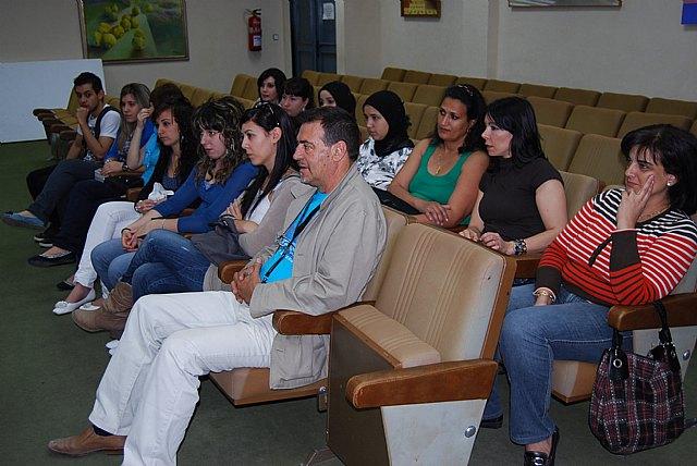Los alumnos del Ciclo Medio de Gestión Administrativa visitan el Consistorio, Foto 2