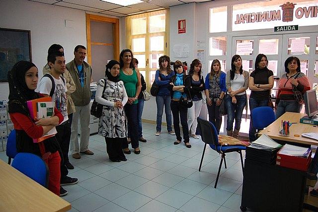 Los alumnos del Ciclo Medio de Gestión Administrativa visitan el Consistorio, Foto 3