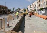 El Ayuntamiento instala una nueva red para favorecer el aprovechamiento de aguas pluviales en el municipio