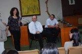 Los alumnos del Ciclo Medio de Gesti�n Administrativa visitan el Consistorio