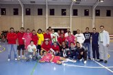 'Construcciones Oromaza', equipo ganador de la Liga de F�tbol Sala