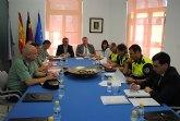 El delegado del Gobierno copreside la Junta Local de Seguridad en La Unión