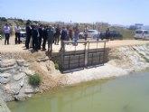 La CHS aumenta las defensas contra las inundaciones, evita los vertidos al Mar Menor y mejora los recursos de riego en Los Alcázares