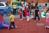 """Multitud de niños y niñas de la localidad disfrutan con los """"Deportimayos"""""""