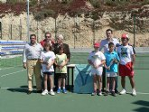 Celebrado el 'Campeonato regional benjam�n de tenis' en Mazarr�n
